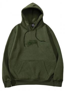 Зелёный худи Stussy - HU1114