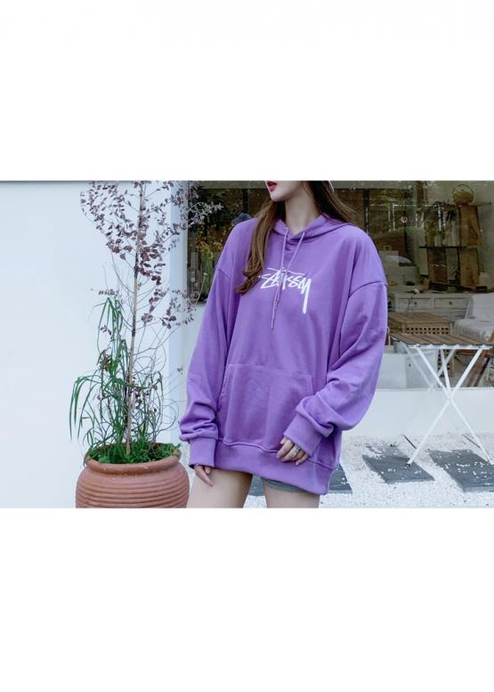 Купить фиолетовый худи Stussy в Киеве с доставкой по Украине