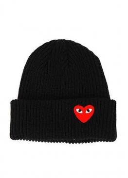 Чёрная шапка Comme Des Garcons - IC1114