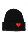 Купить чёрную шапку Comme des Garcons в Киеве с доставкой по Украине
