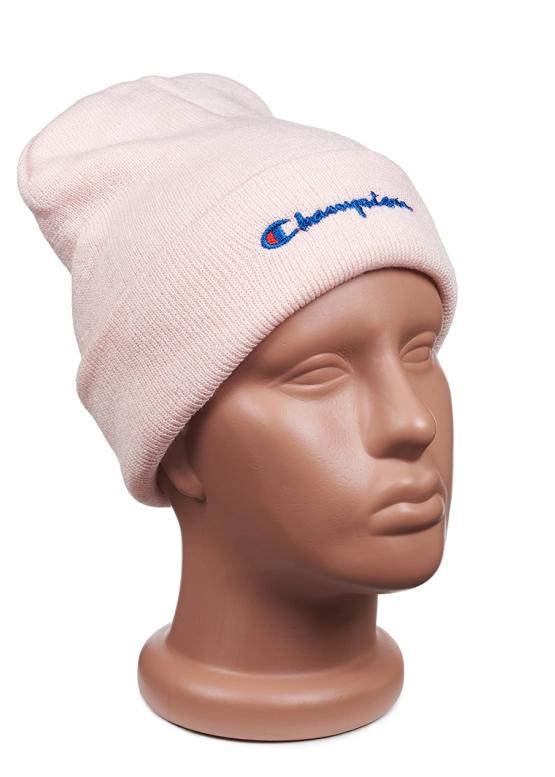 Купить розовую шапку Champion в Киеве с доставкой по Украине