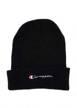 Чёрная шапка Champion - IH1115