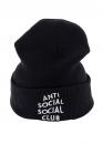 Купить чёрную шапку Anti Social Social Club в Киеве с доставкой по Украине