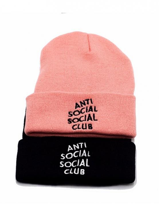 Купить розовую шапку Anti Social Social Club в Киеве с доставкой по Украине