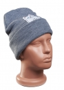Купить серую шапку Rip n Dip в Киеве с доставкой по Украине