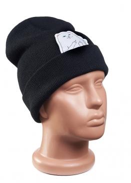 Чёрная шапка Rip n Dip - IR1112