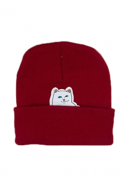 Бордовая шапка Rip n Dip - IR1113