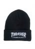 Чёрная шапка Thrasher - IT1111
