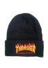 Чёрная шапка Thrasher - IT1112
