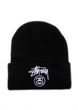 Чёрная шапка Stussy - IU1111