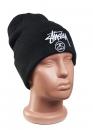 Купить чёрную шапку Stussy в Киеве с доставкой по Украине