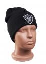 Купить чёрную шапку Raiders в Киеве с доставкой по Украине