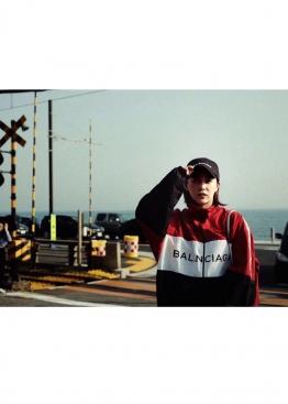Чёрная кепка Balenciaga - KB1111