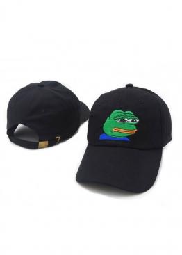 Чёрная кепка Pepe - KE1111