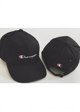 Чёрная кепка Champion - KH1111