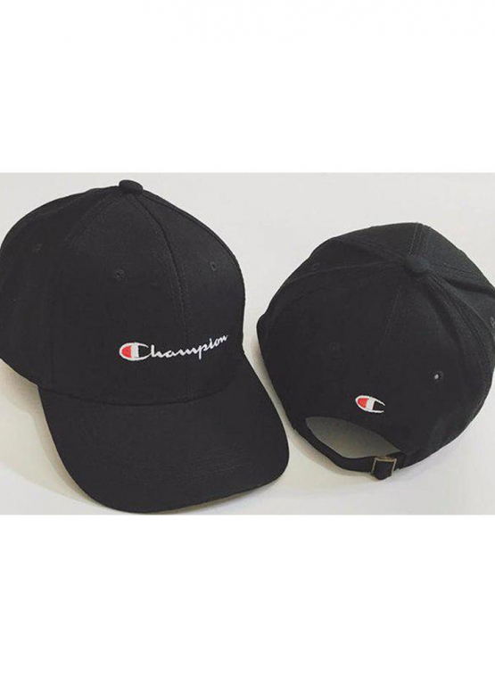 Купить чёрную кепку Champion в Киеве с доставкой по Украине