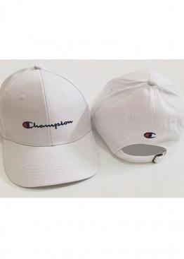 Белая кепка Champion - KH1112