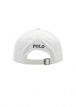 Белая кепка бейсболка Polo Ralph Lauren - KL1111