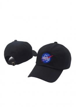 Чёрная кепка NASA - KN1111