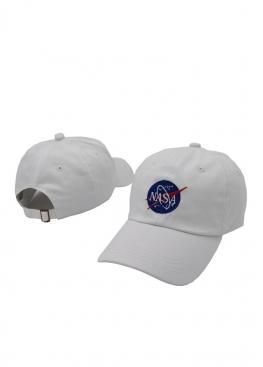Белая кепка NASA - KN1112