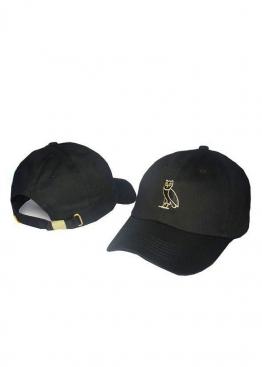 Чёрная кепка Drake Ovo - KR1113