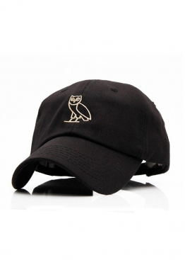 Чёрная кепка Drake Ovo - KR1111