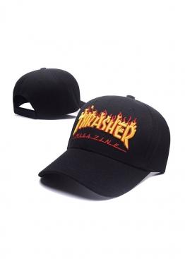 Чёрная кепка Thrasher - KT1111