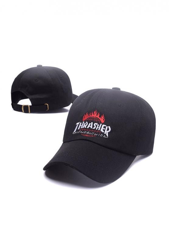 Купить чёрную кепку Thrasher в Киеве с доставкой по Украине