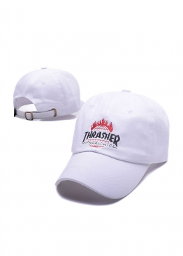 Белая кепка Thrasher - KT1113