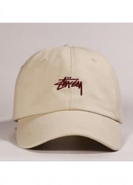 Бежевая кепка Stussy - KU1116