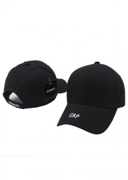 Чёрная кепка Vetements Cap - KV1111