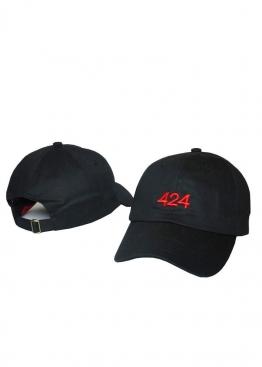 Чёрная кепка 424 - KW1111