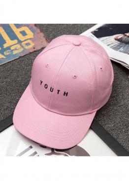 Розовая кепка Youth - KY1111