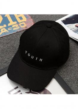 Чёрная кепка бейсболка Youth - KY1112
