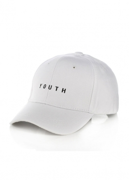 Белая кепка Youth - KY1113