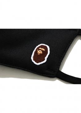 Чёрная маска Bape Head Mask Black - MA1111