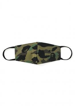 Зелёная маска Bape Full 1st Camo Mask Green - MA1113