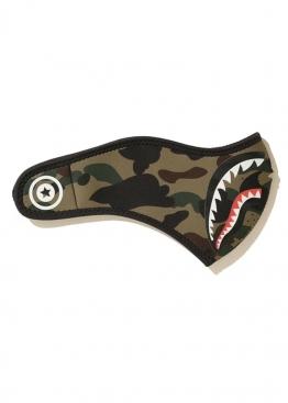 Зелёная маска Bape 1st Camo Shark Mask Mens - MA1115