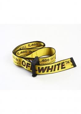 Жёлтый ремень Off-white - QO1111