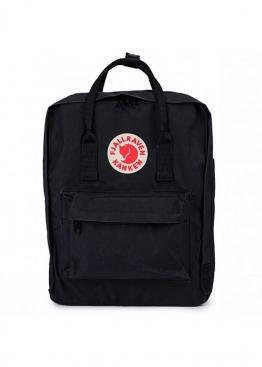 Чёрный рюкзак Fjallraven Kanken - RK1111
