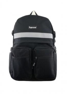 Чёрный рюкзак Supreme - RS1117