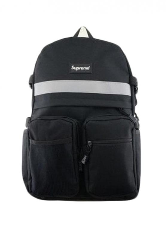 Купить чёрный рюкзак Supreme в Киеве с доставкой по Украине