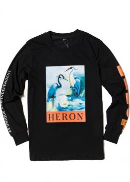 Чёрная кофта Heron Preston - SI1111
