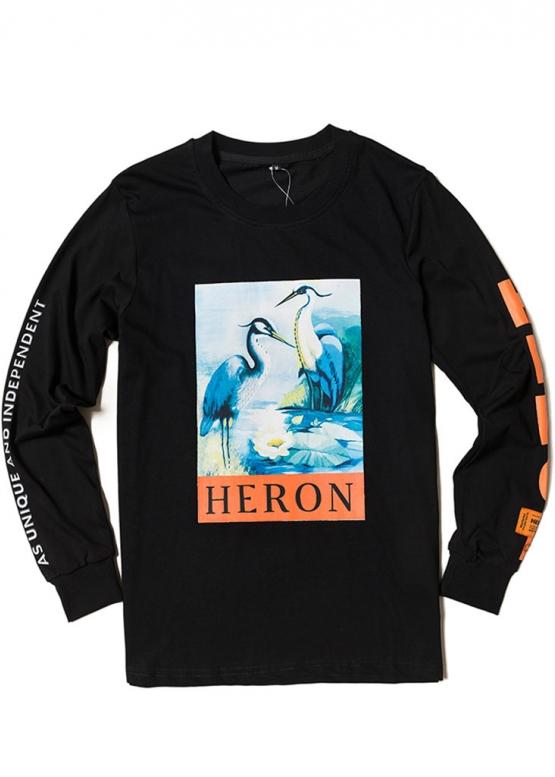 Купить чёрную кофту Heron Preston в Киеве с доставкой по Украине