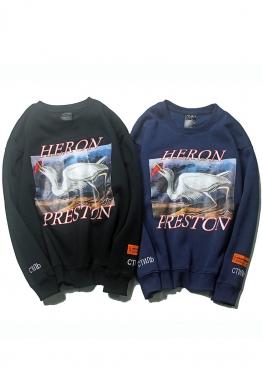 Чёрный свитшот Heron Preston - SI1112