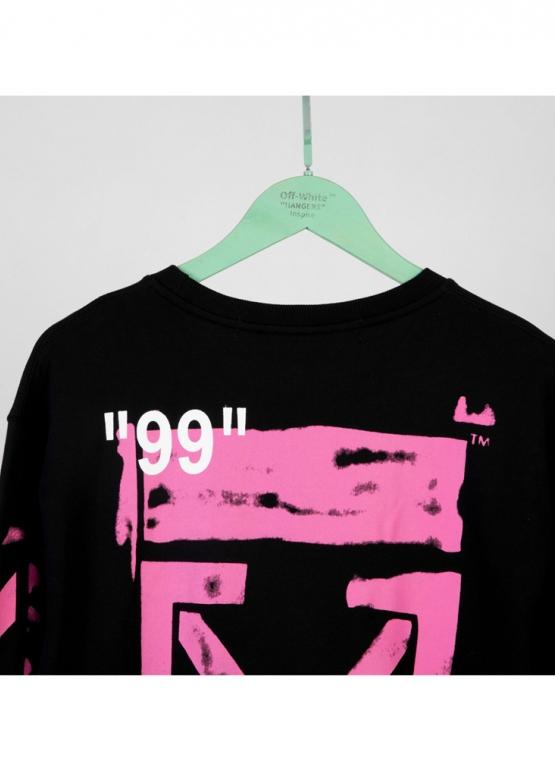 Купить чёрный свитшот Off-white в Киеве с доставкой по Украине