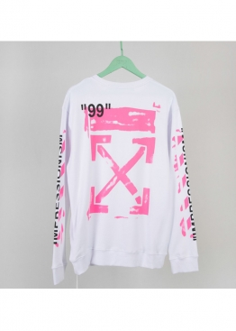 Белый свитшот Off-white - SO1115