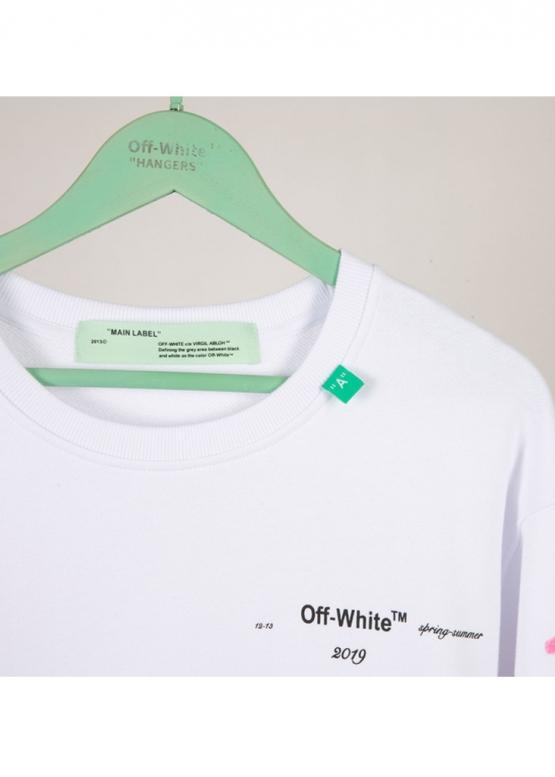Купить белый свитшот Off-white в Киеве с доставкой по Украине