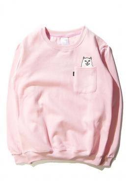 Розовый свитшот Rip n Dip - SR1112