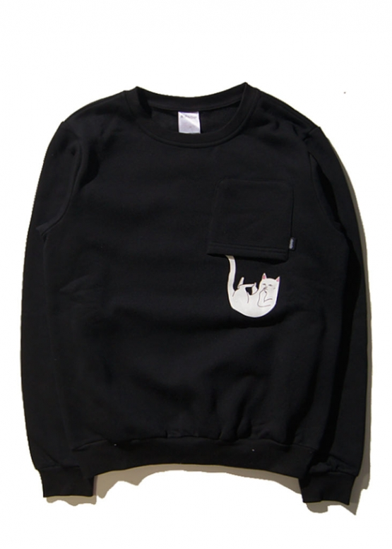 Купить чёрный свитшот Rip n Dip в Киеве с доставкой по Украине